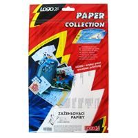 Nažehlovací papír pro bílá trička, bílý, A4, 5 listů, pro inkoustové tiskárny